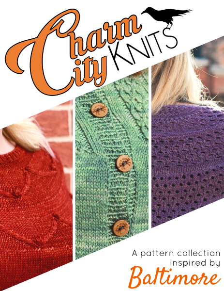 Charm City Knits knitting pattern collection