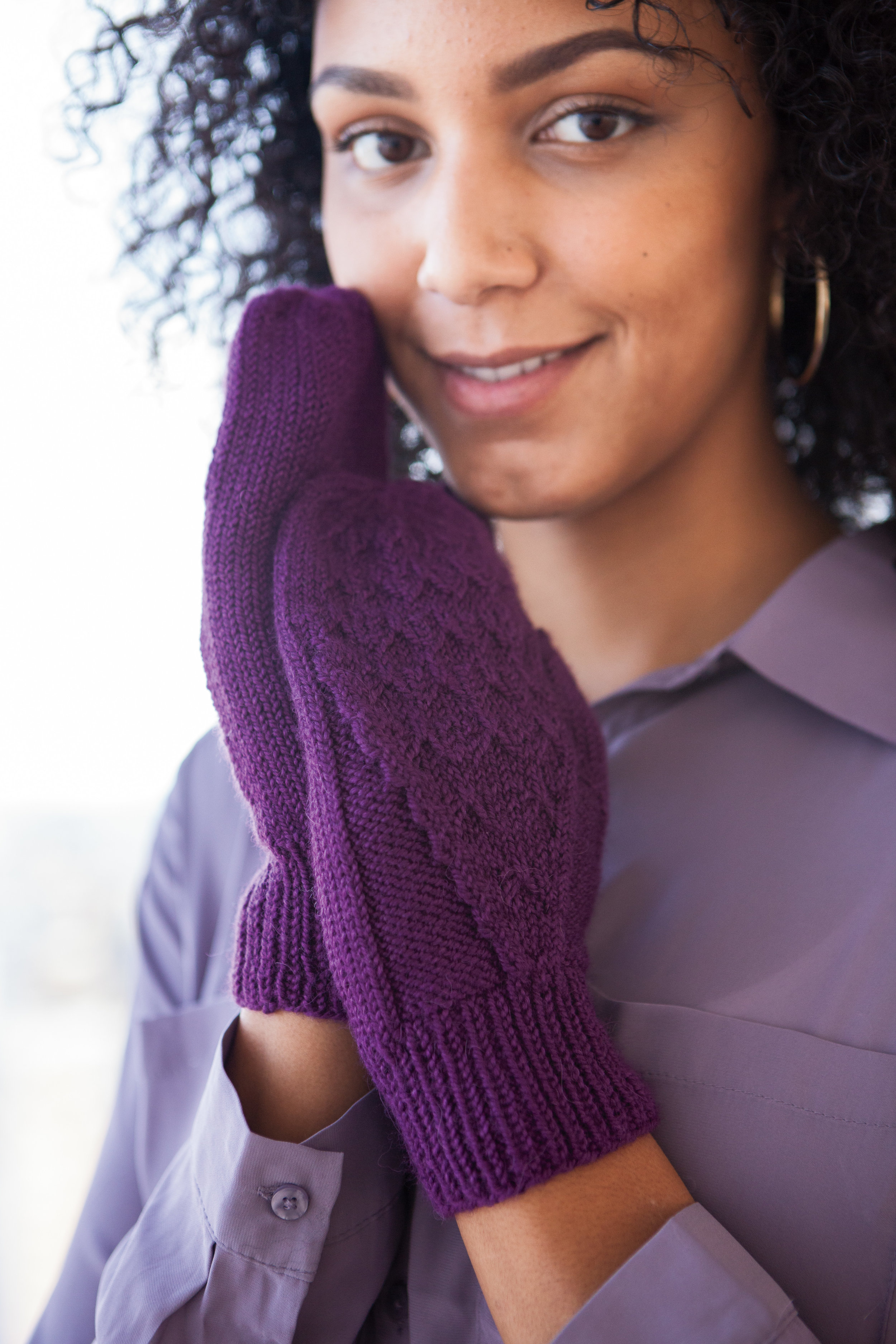 Guapa Mittens, published earlier this year by Knit Picks