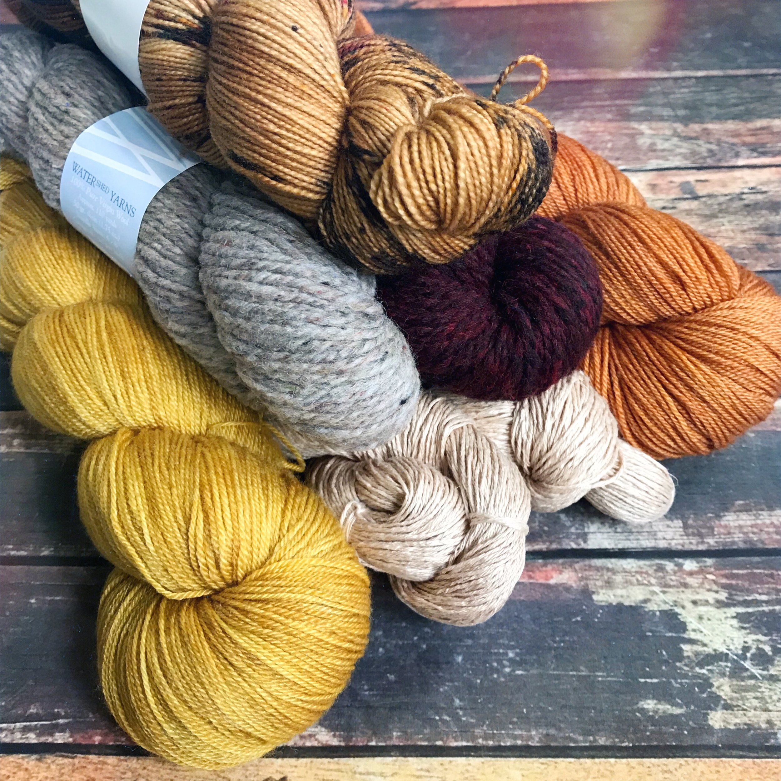 Some yarn for 2019 designs!