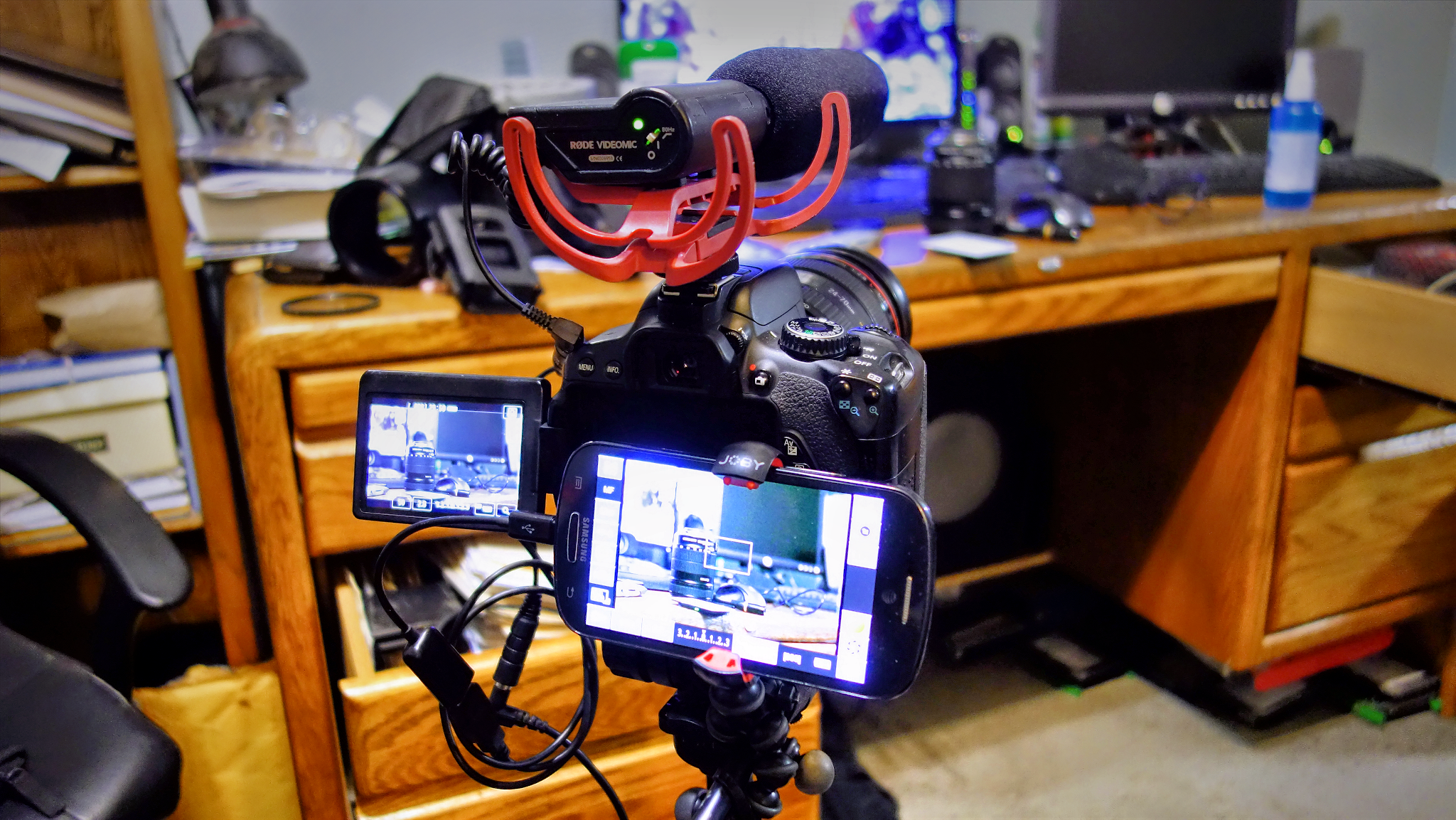 Canon T4i Video Rig