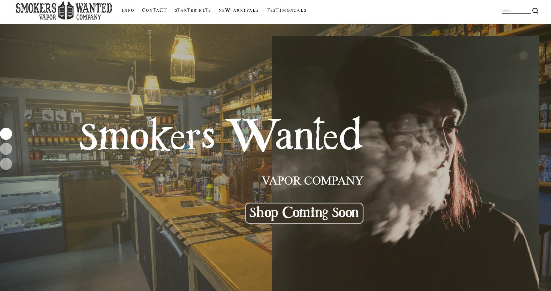 Smokers Wanted - Vapor Company