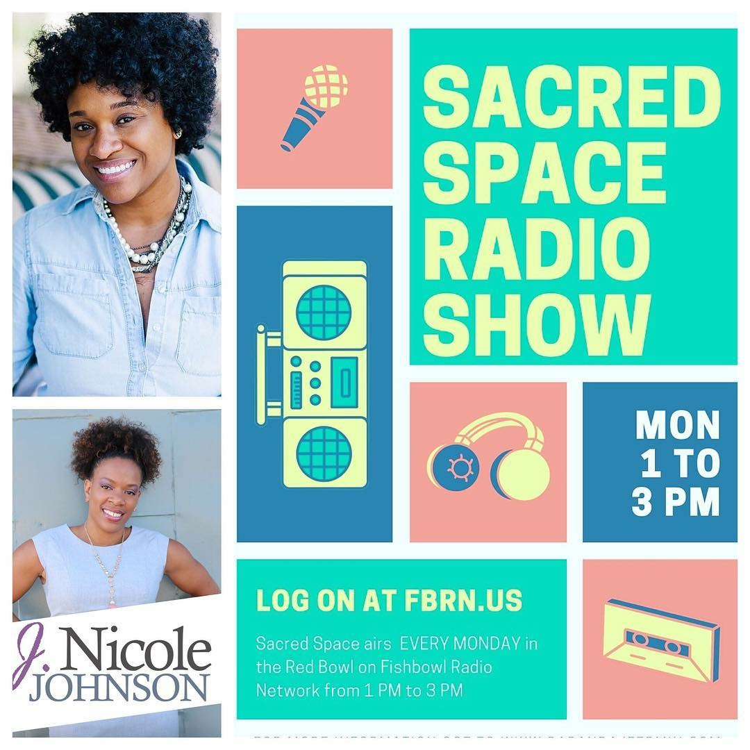 Why is it so hard to get in our groove? - I mean it's ours, right. We know it's our sweet spot, the place where our creativity and productivity are optimized. Yet, even when right now isn't working anymore we often hesitate to get back into our own groove. J. Nicole Johnson joins me in the studio for this session of #SacredSpace and we discuss all the reasons we hesitate to do what's best for us, even when we actually really want to do.