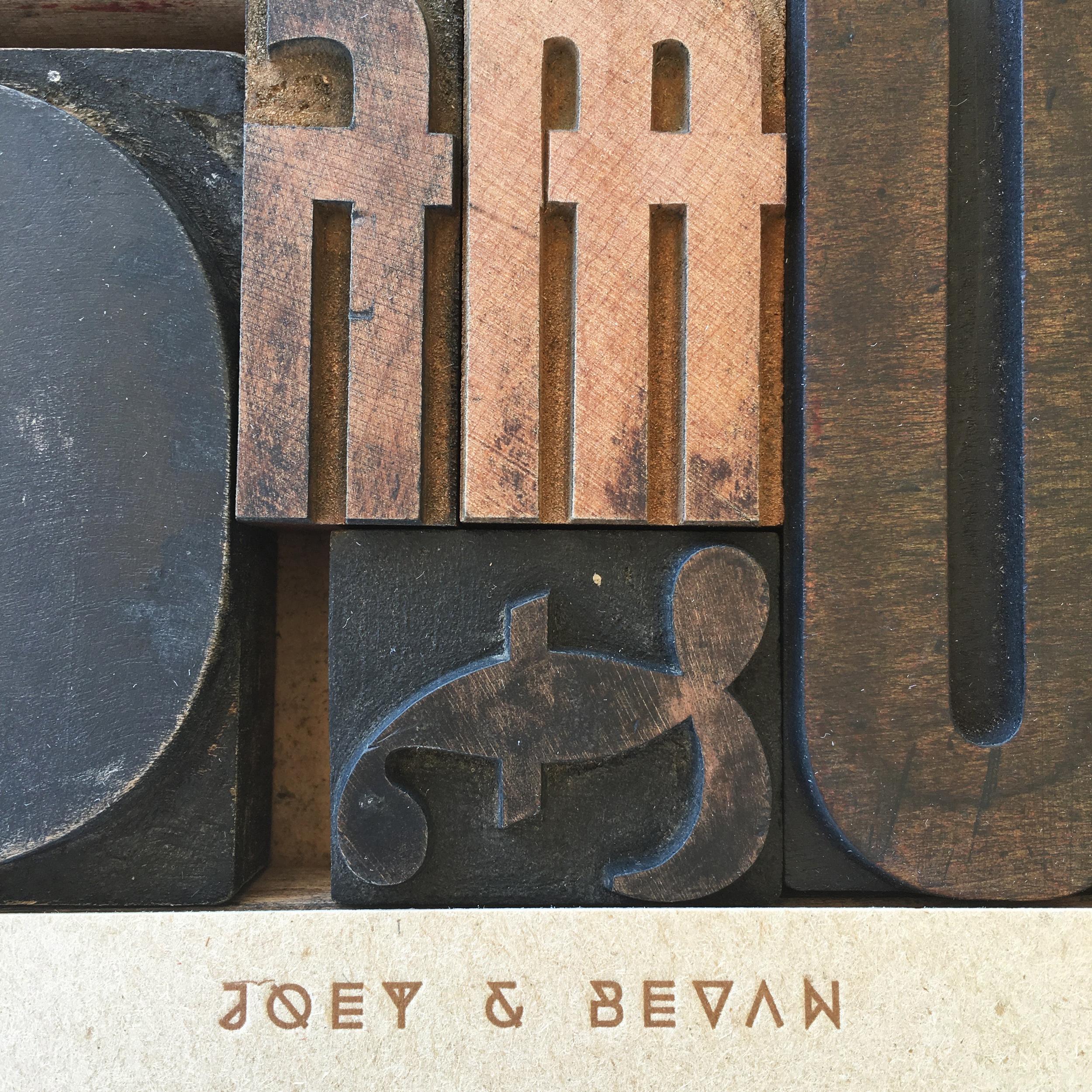 Joey & Bevan Detail