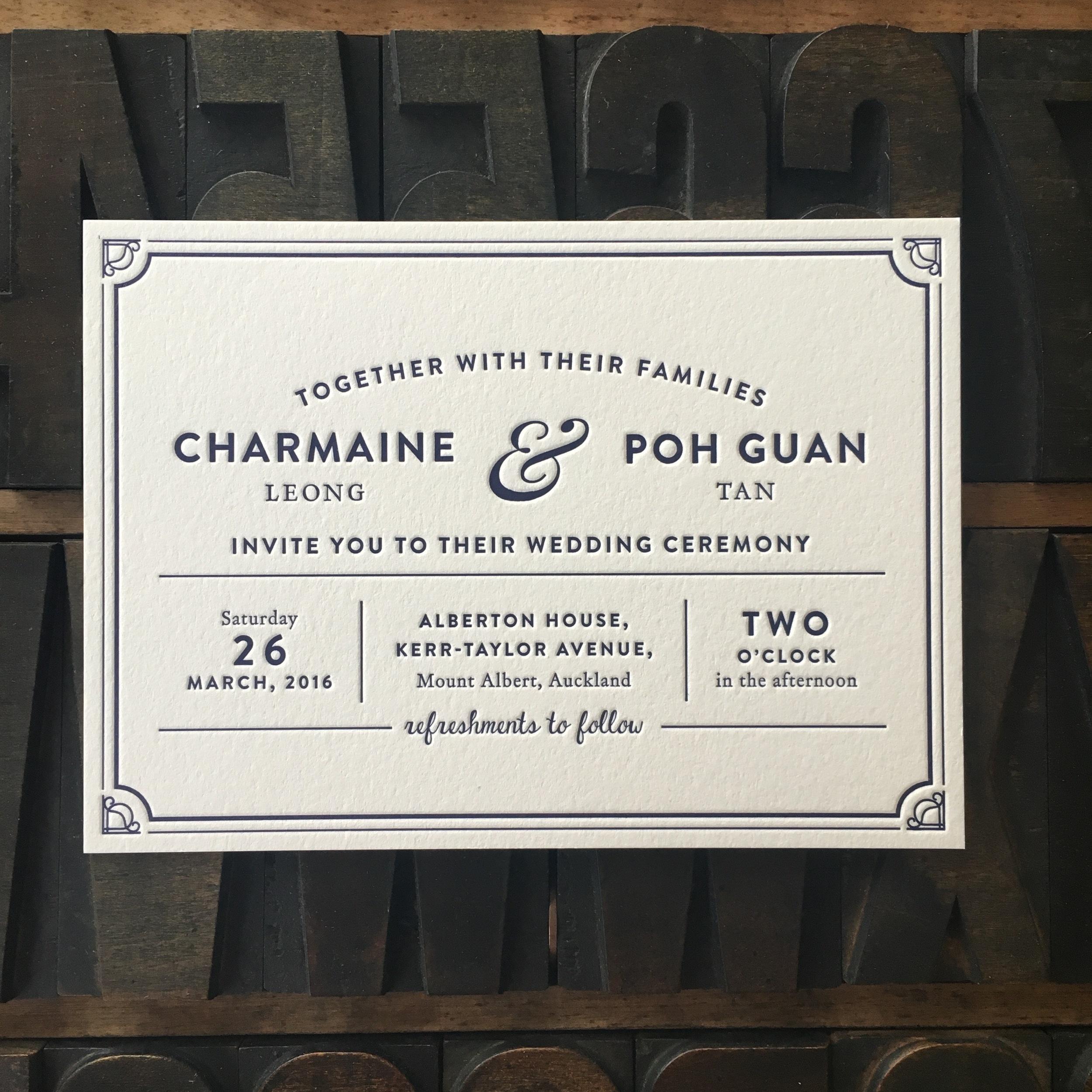 Charmaine & Poh Guan