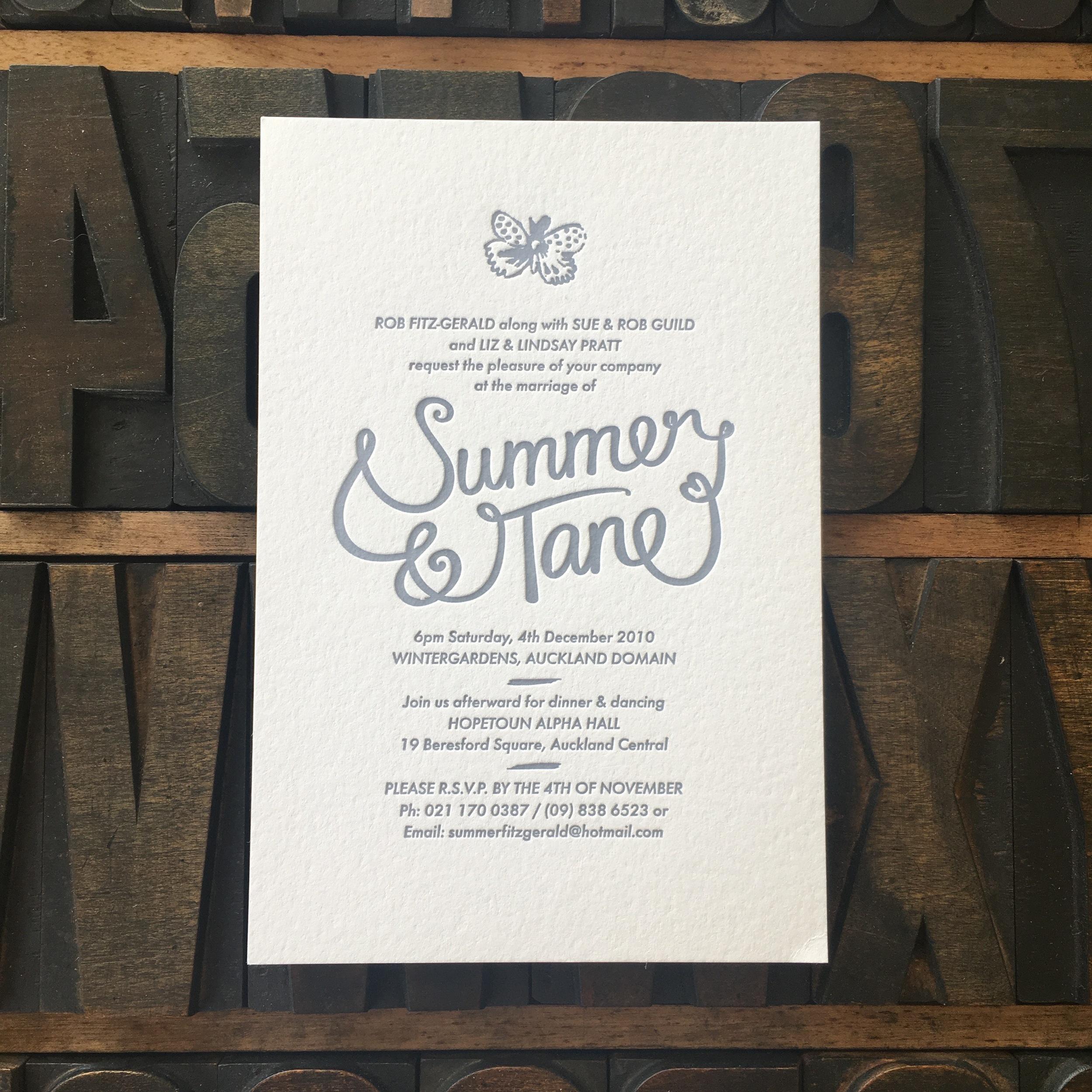 Summer & Tane
