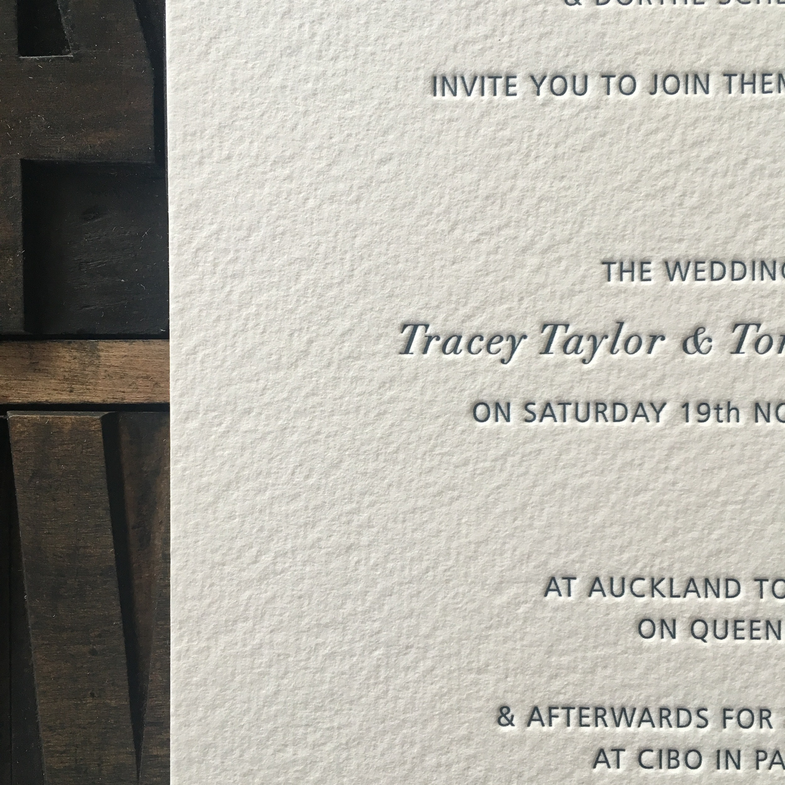 Tracey & Tomas Detail