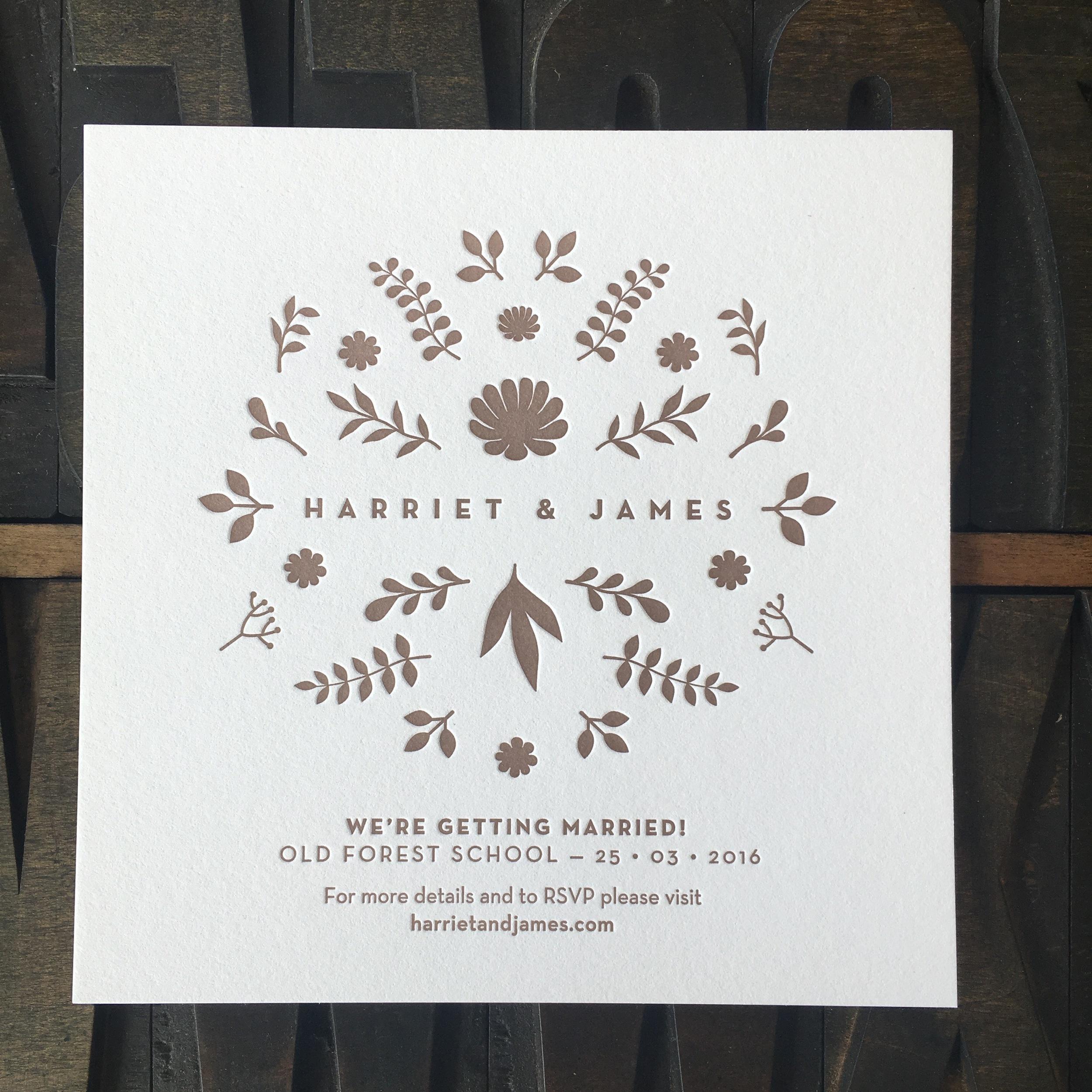 Harriet & James