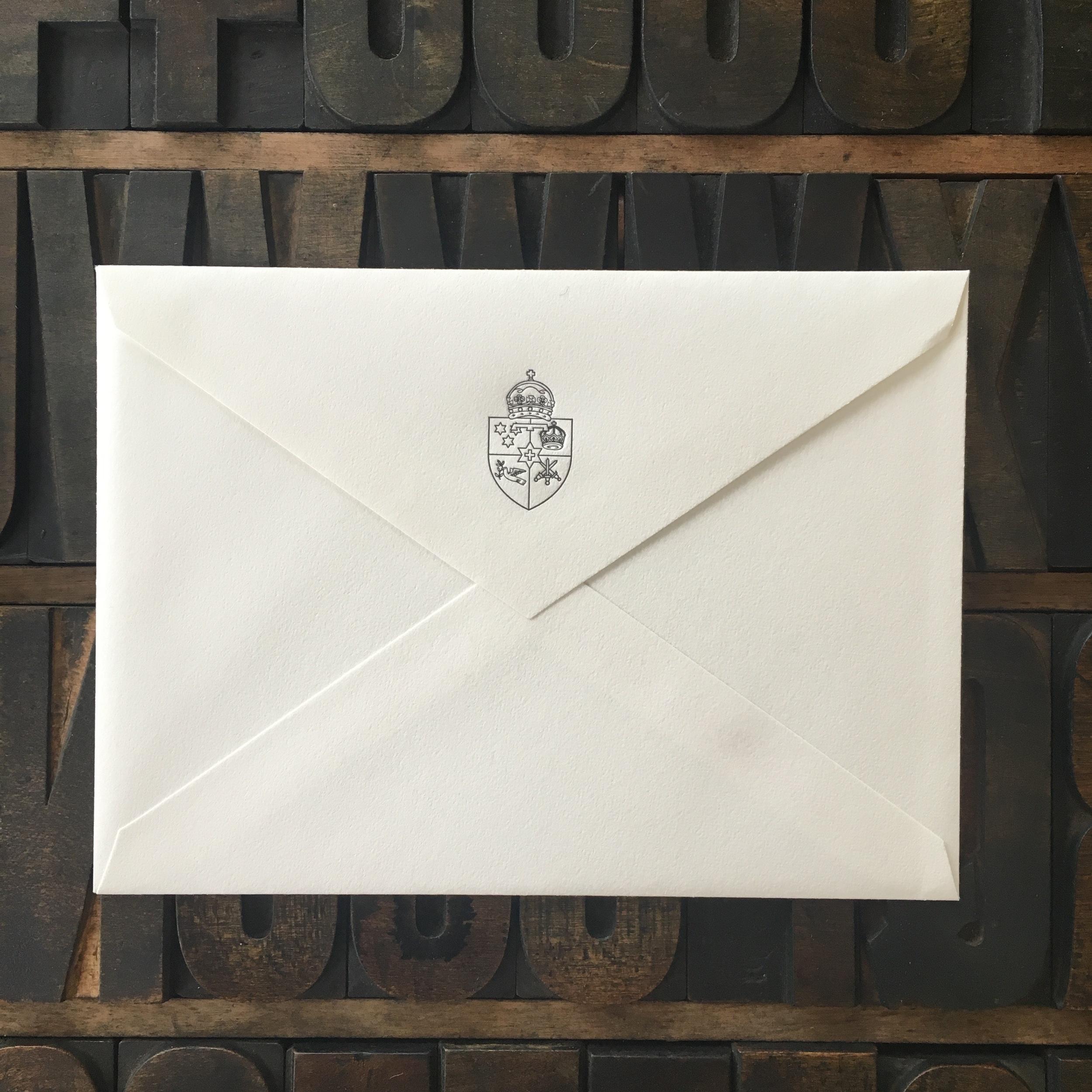 US A7, Letterpress Flap