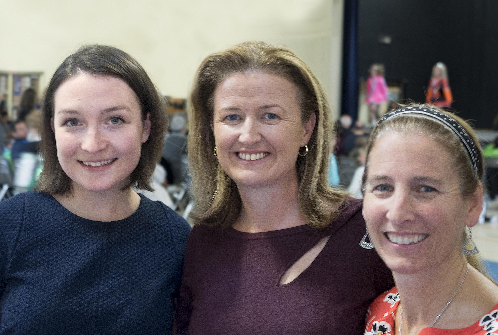 Caitlin O'Neill, TCRG | Áine Walsh Kelley, TCRG | Colleen King, TCRG