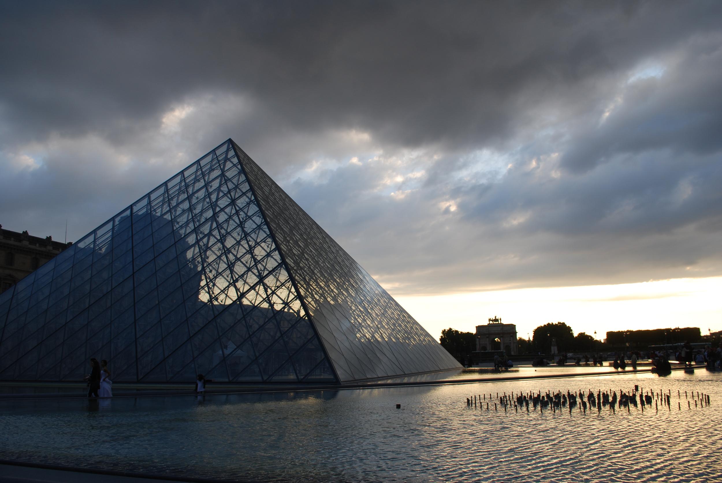 Louvre Museum. Paris, France.