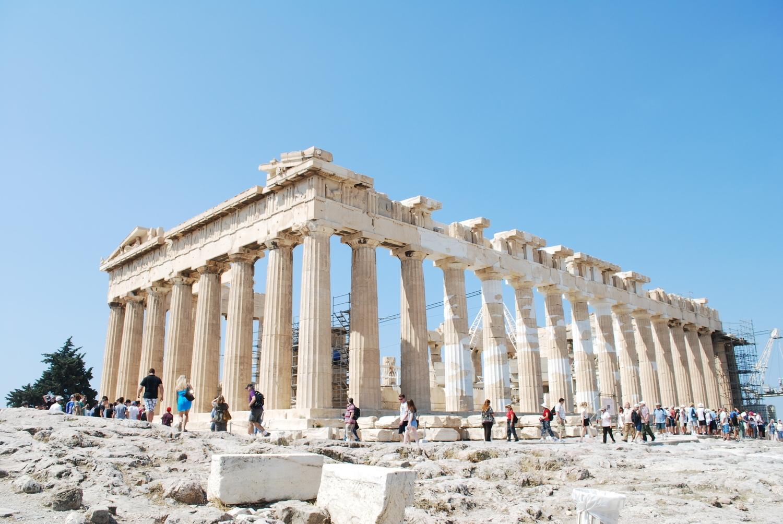 Parthenon Temple.Athens, Greece