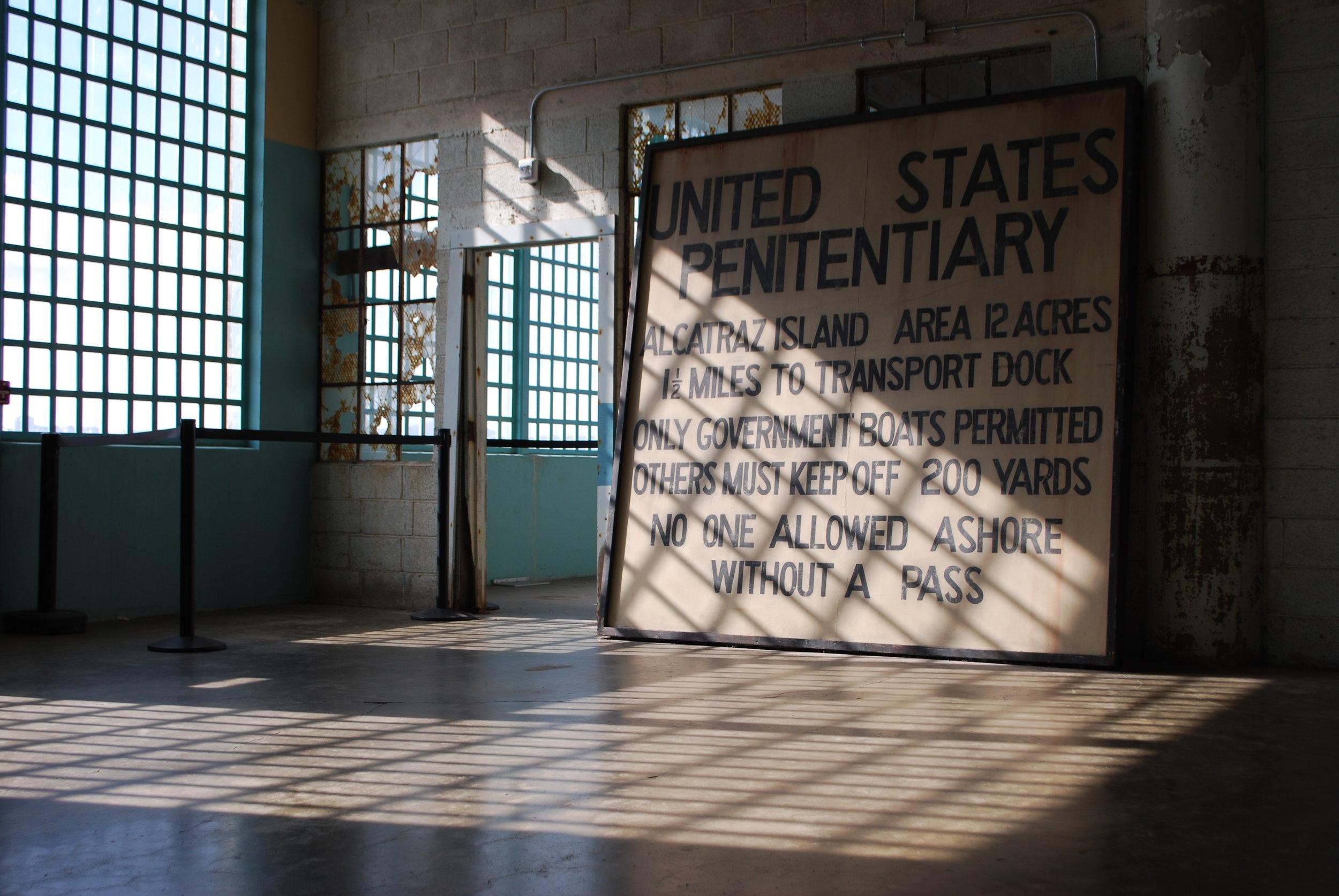 Alcatraz Island, SF, California