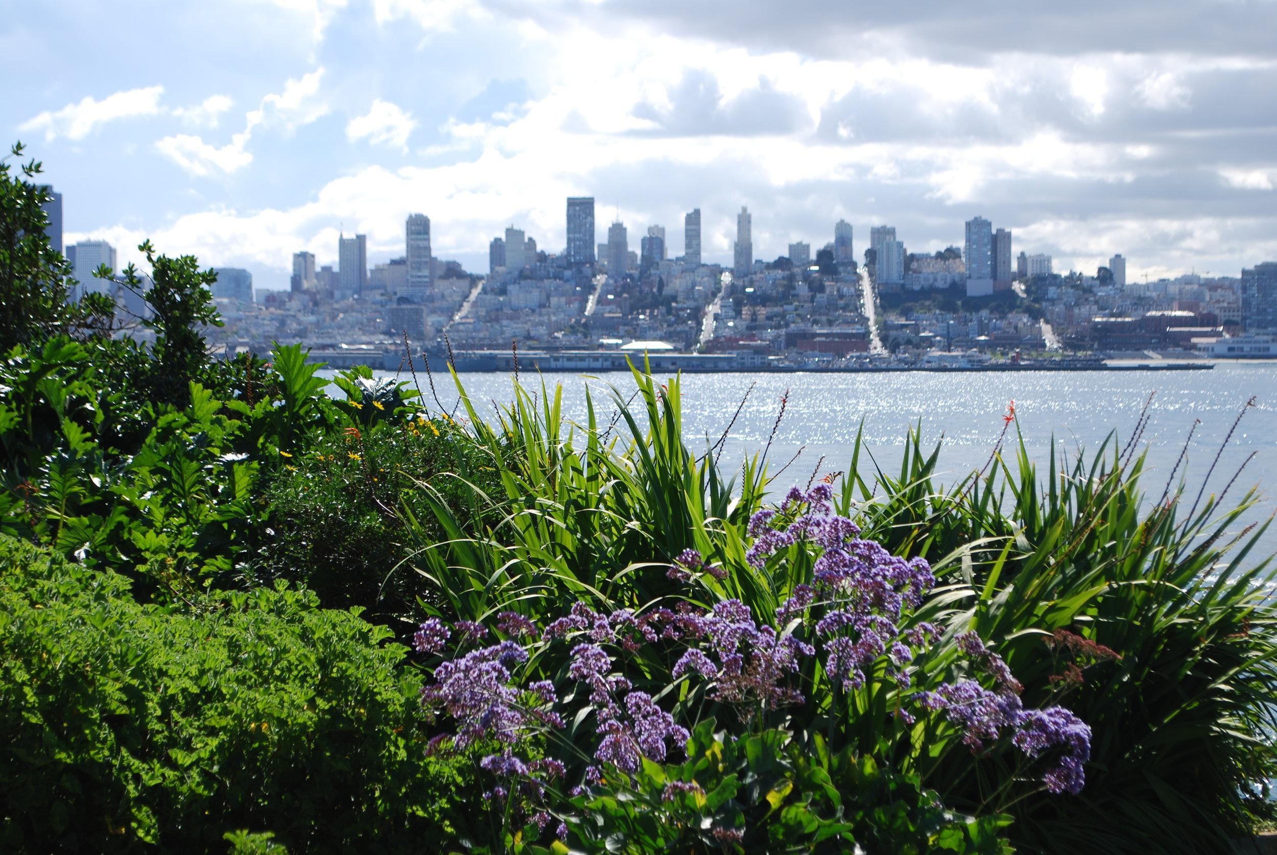 San Francisco from Alcatraz Island, California