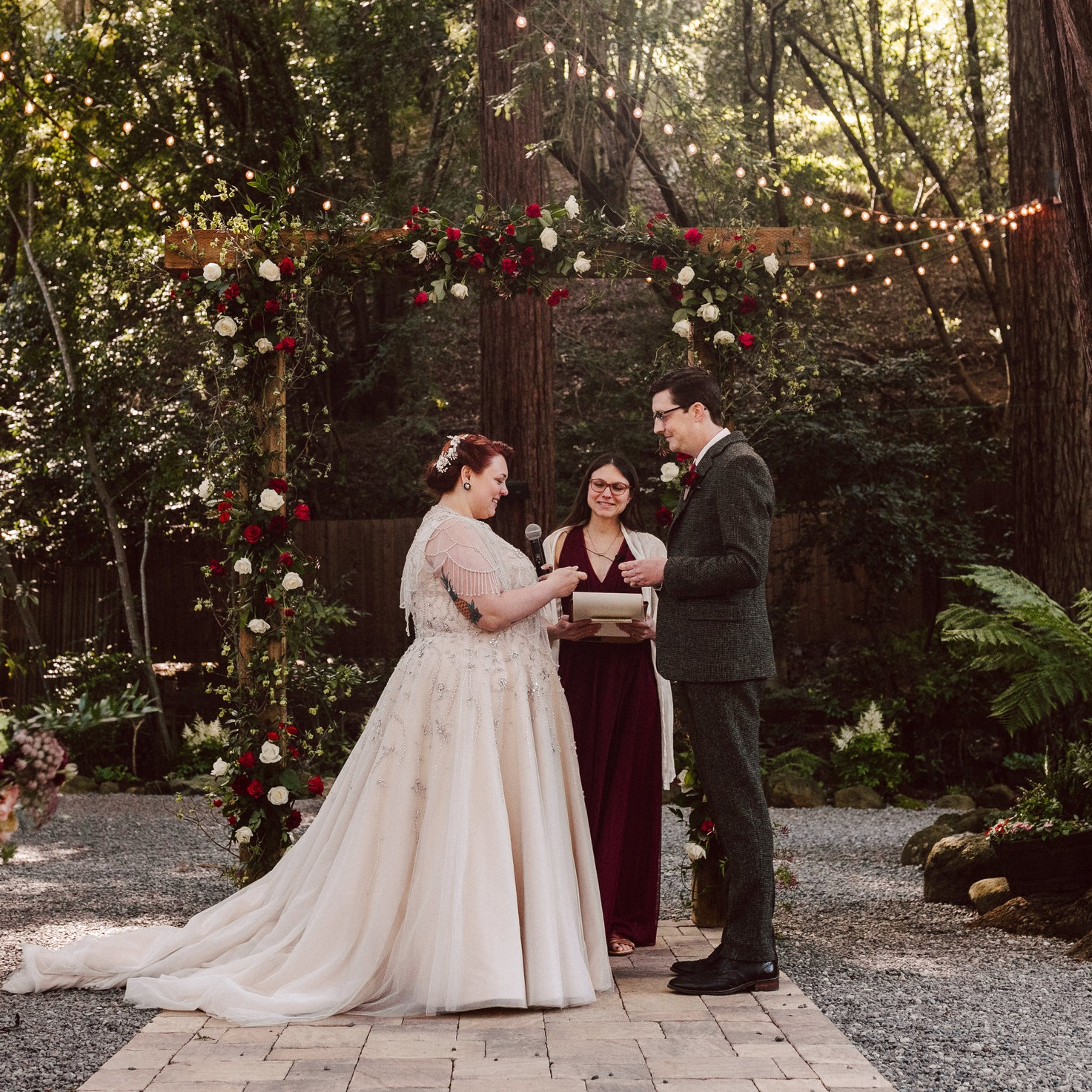 Lead Your Love Life, Wedding Officiant, Deer Park Villa, California