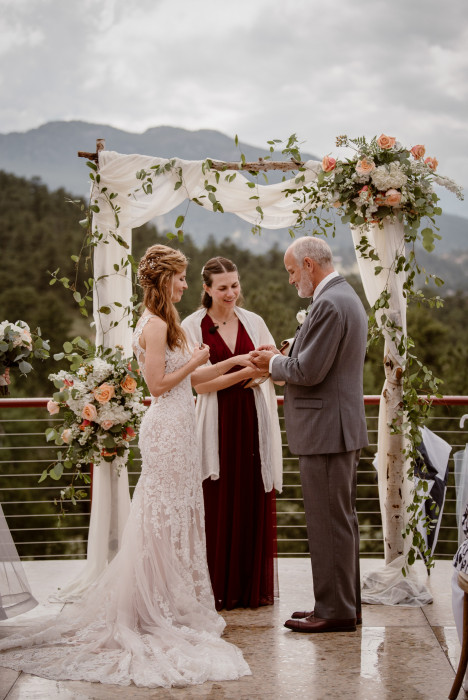 Lead Your Love Life, officiating wedding, Sarah Oswald