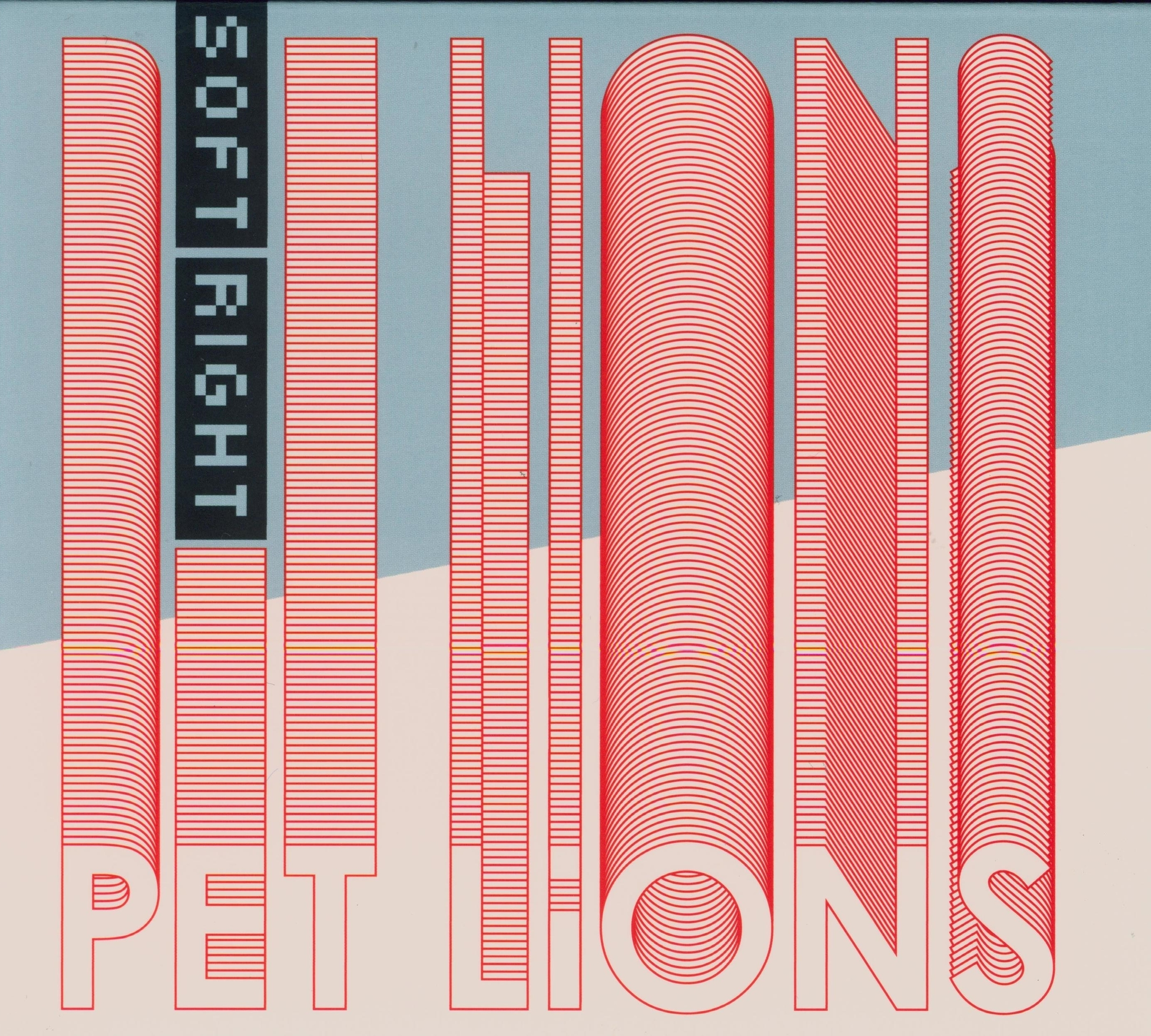 Pet Lions Soft Right EP Album Artwork