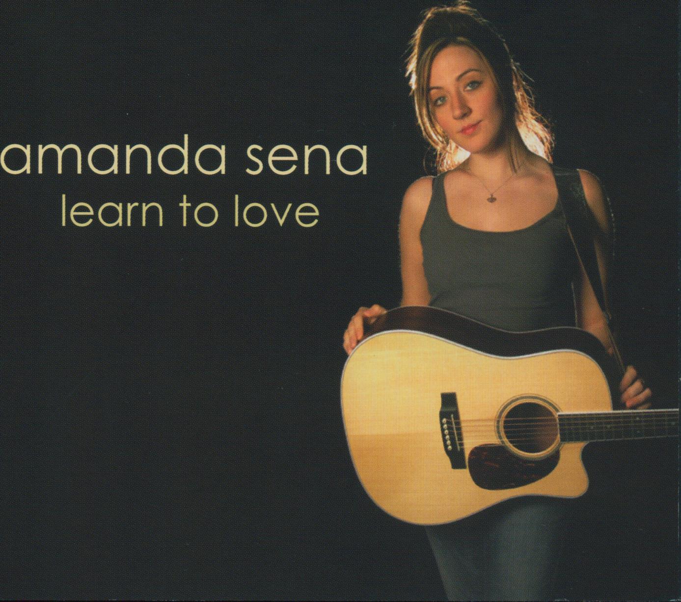 Amanda Sena Learn to Love Album Artwork