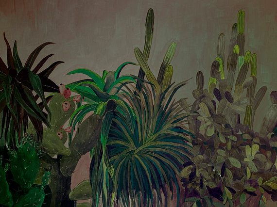Cactus and Agave Landscape