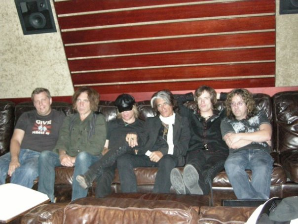 With  The Joe Perry Project
