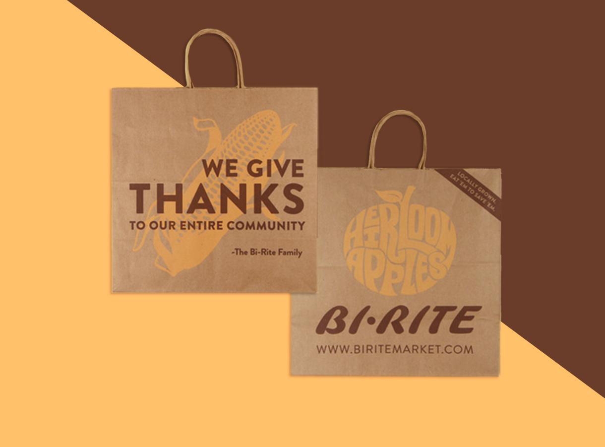 Thanksgiving Grocery Bag