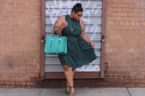 Forever 21+ Dress , Fashion To Figure handbag