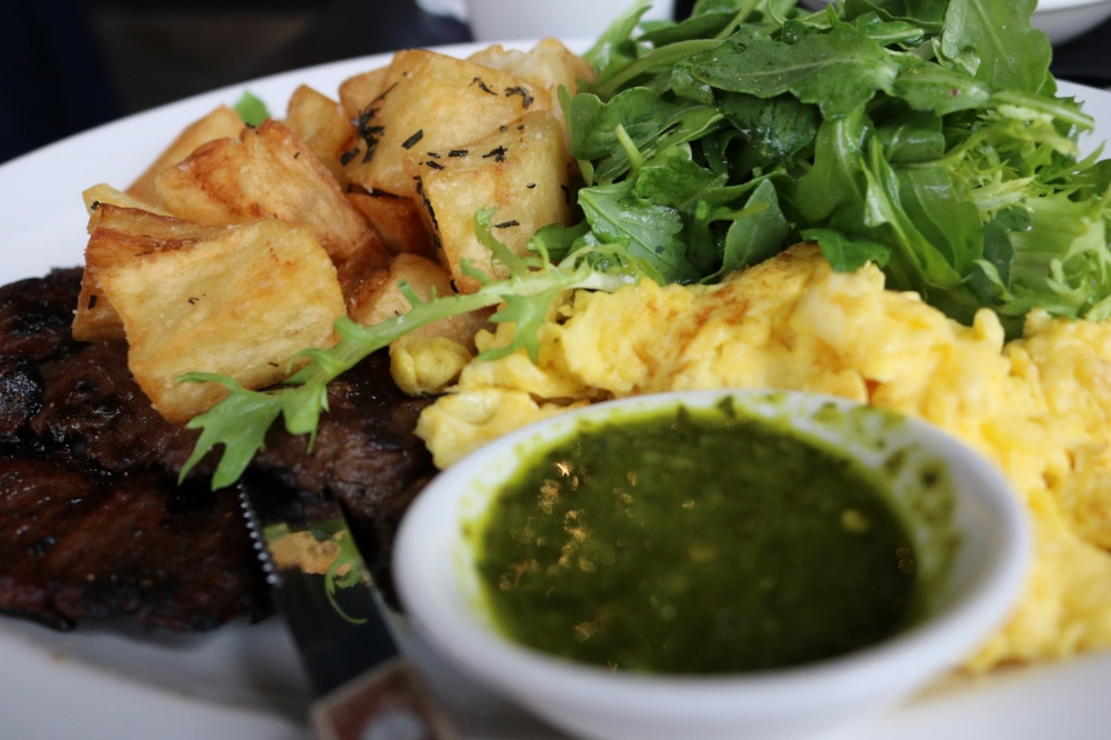 Steak & Eggs with Pimenton Potatoes