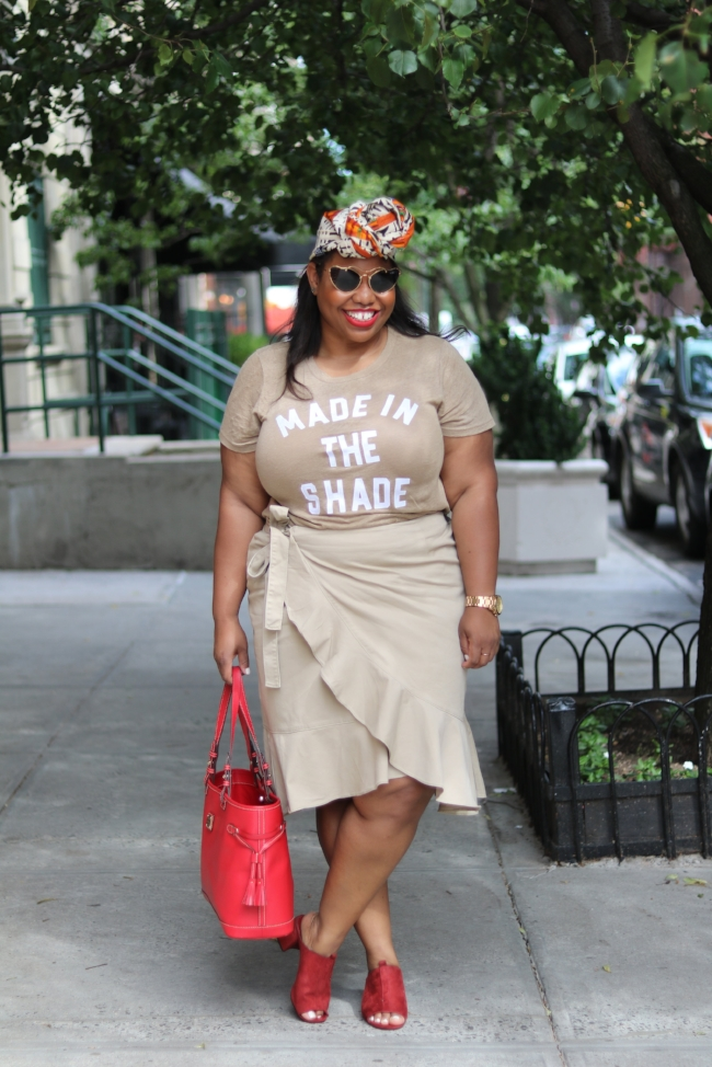 J Crew Made In The Shade Tee
