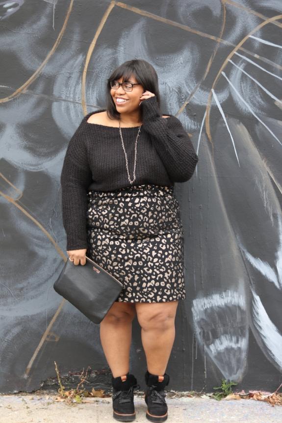 Eloquii Brocade Skirt
