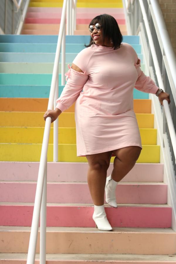 Eloquii Sweatshirt Dress