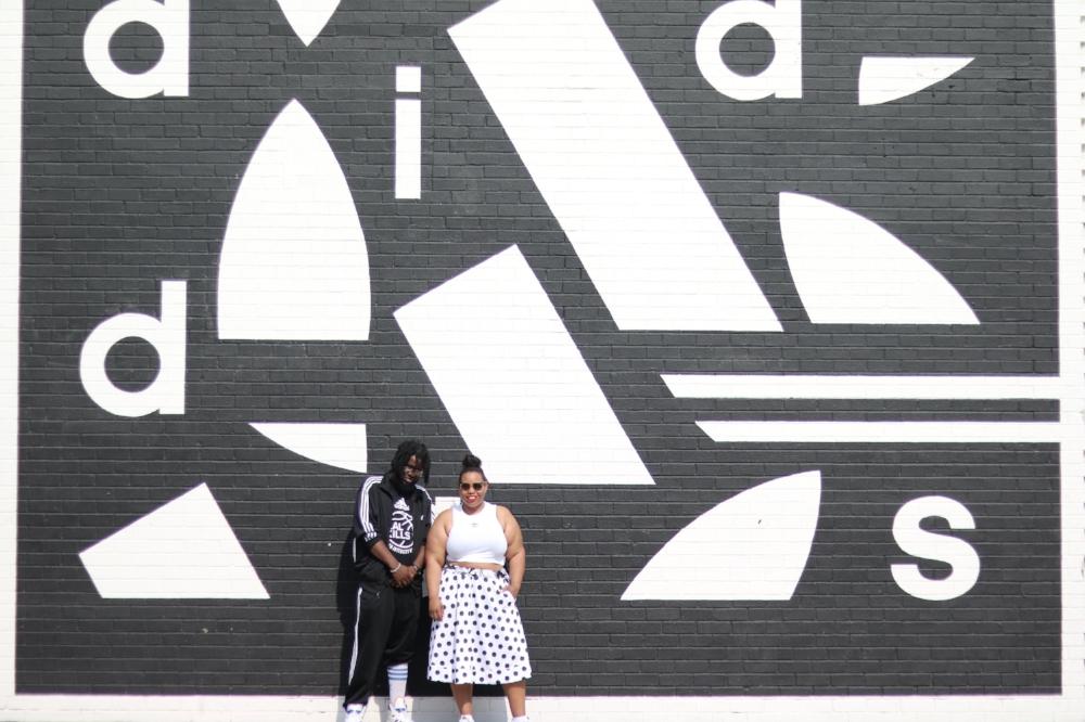 Adidas Wall