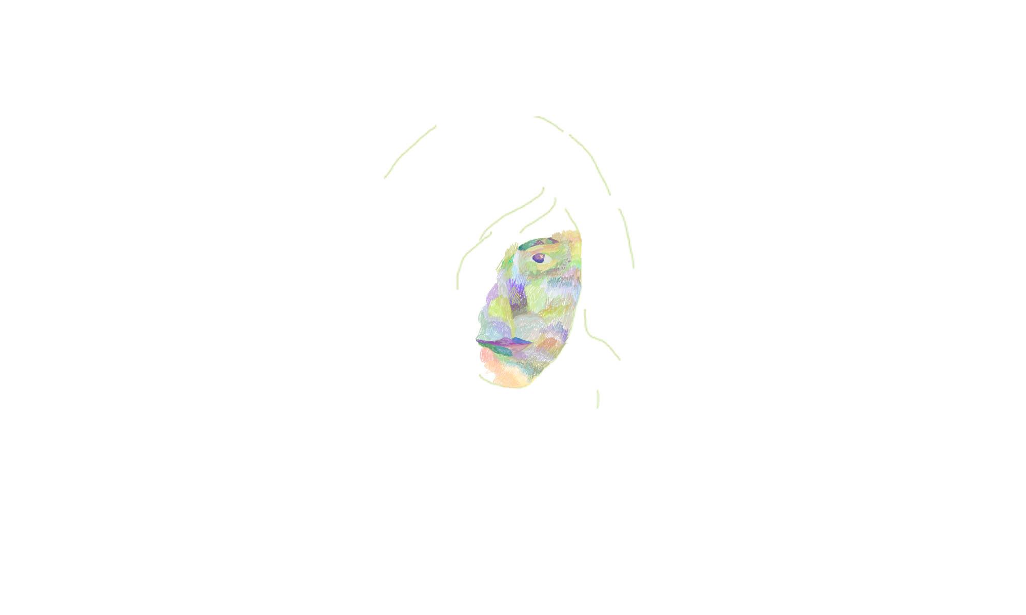 Self Portrait 1   2012  Digital Illustration