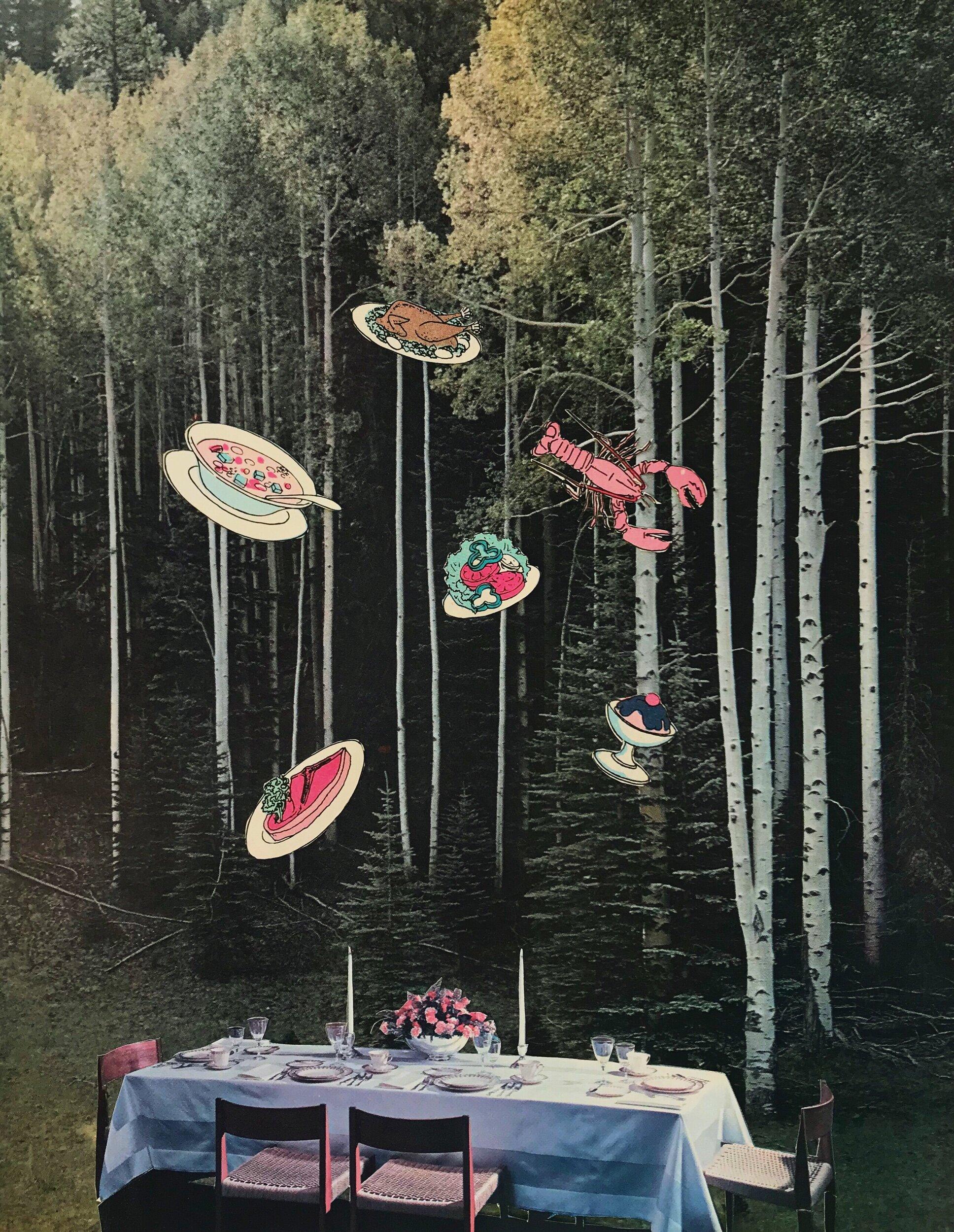 Fancy Dinner   2018  Collage
