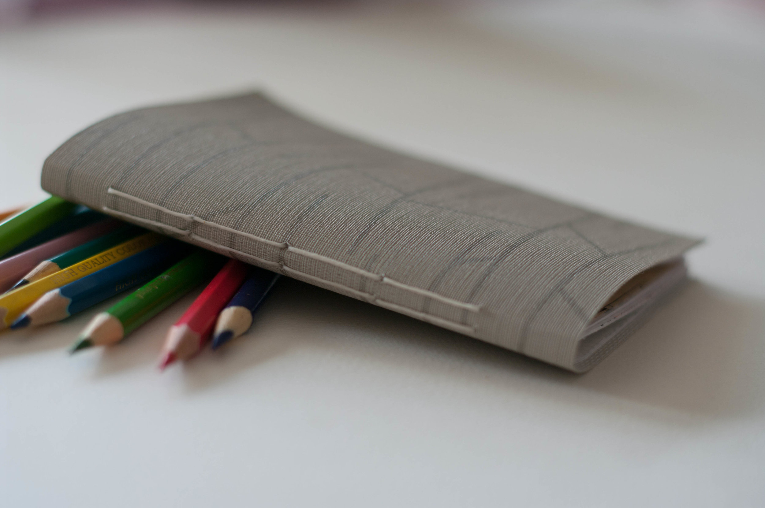 Make & Take - Make a custom hand stitched journal withupcycled papers$15 (2/$20)