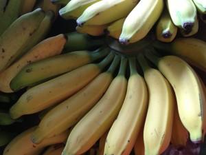 banana tea and banana snack