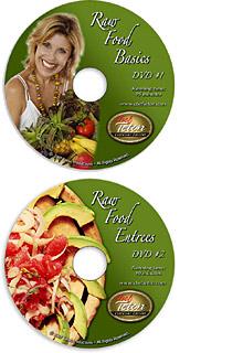 RawFood Basics and Entrees DVD's