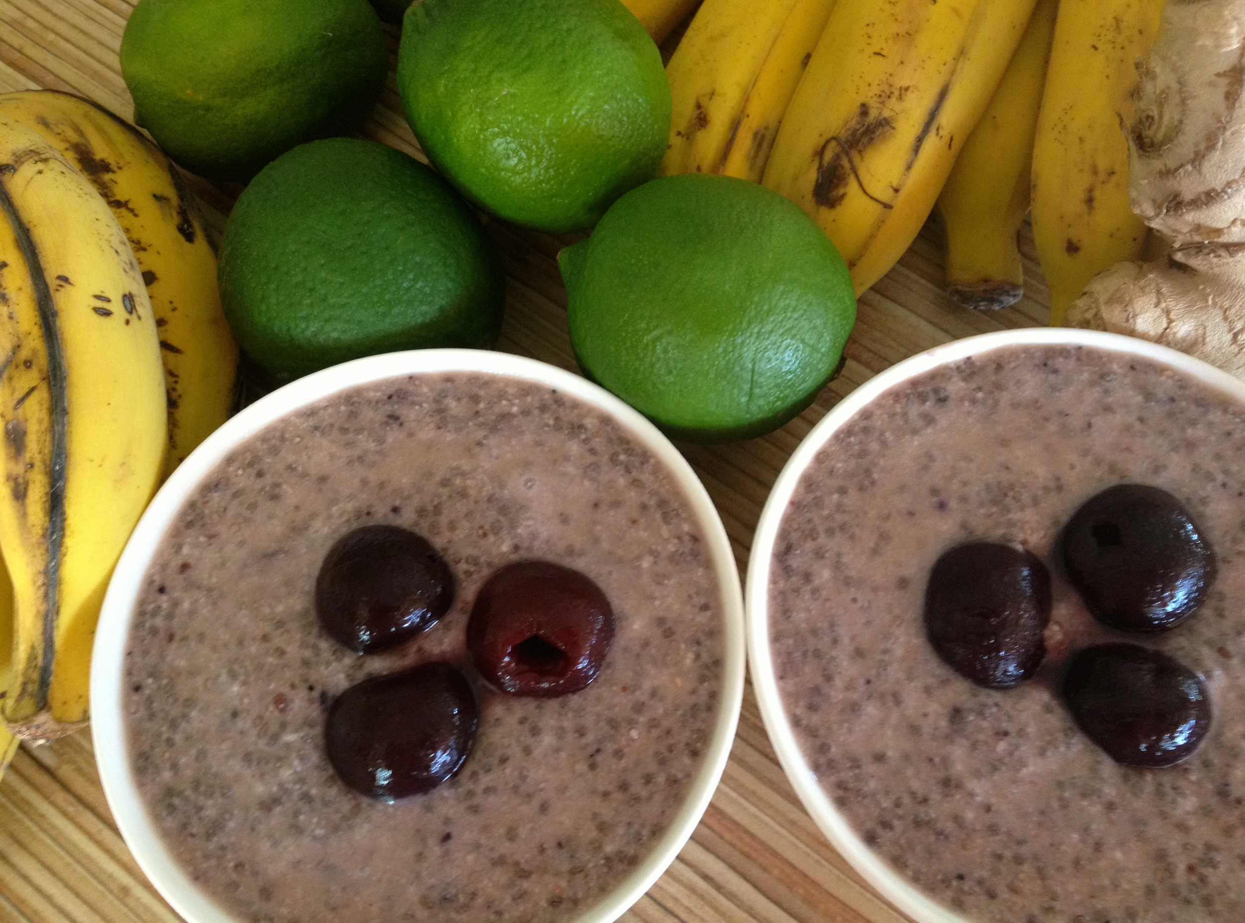 Coco Berry Chia Pudding