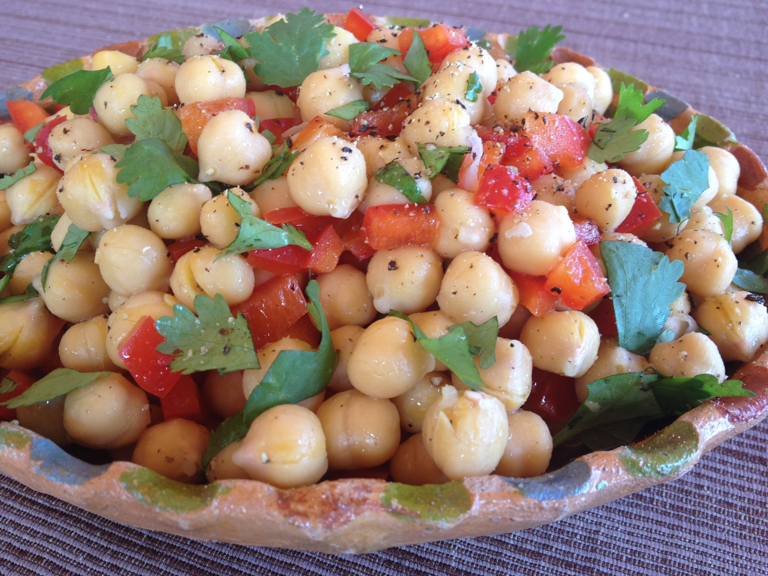 Chick Peas (Garbanzo Beans) & Coconut Oil