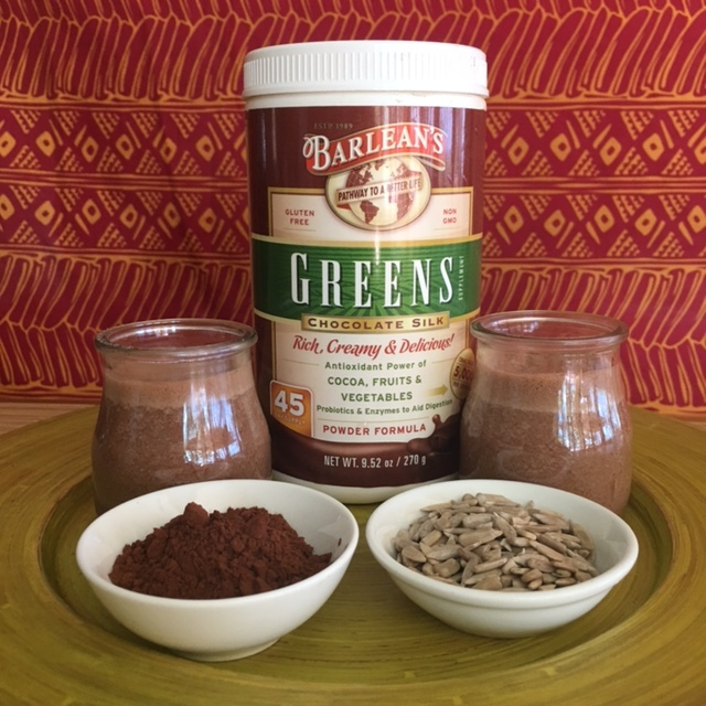 Barlean's Chocolate Silk Smoothie