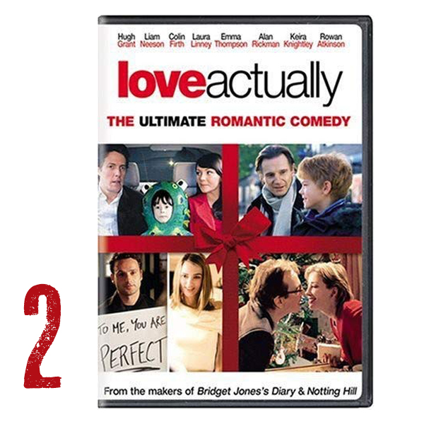 Favorite Holiday Movie: Love Actually - This is the kind of movie you can watch over and over - it makes me laugh, makes me cry and feel warm all over. Love this movie!