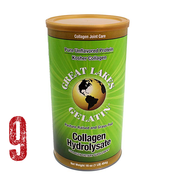 Great Lakes Gelatin - Pasture-Raised and Grass-Fed Collagen Hydrolysate. This product makes my coffee and tea drinks creamy and builds my bones and ligaments strong! Mixes so easy and is affordable.