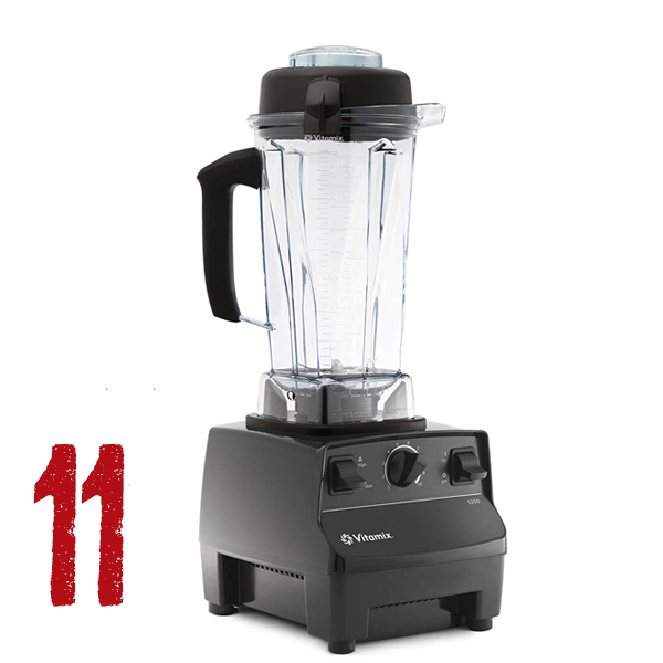 VitaMix - I could not live without my VitaMix. Makes life in the kitchen fast and easy. This machine is so versatile and worth the expense as it will last a lifetime. You can make smoothies of all kinds, sauces and dressings, soups, creamy hot drinks, fruit sorbets, EVERYTHING. A bonus is that it is so easy to clean. Save money on raw foods and do it yourself with the VitaMix, the key to fast, healthy and affordable recipes.