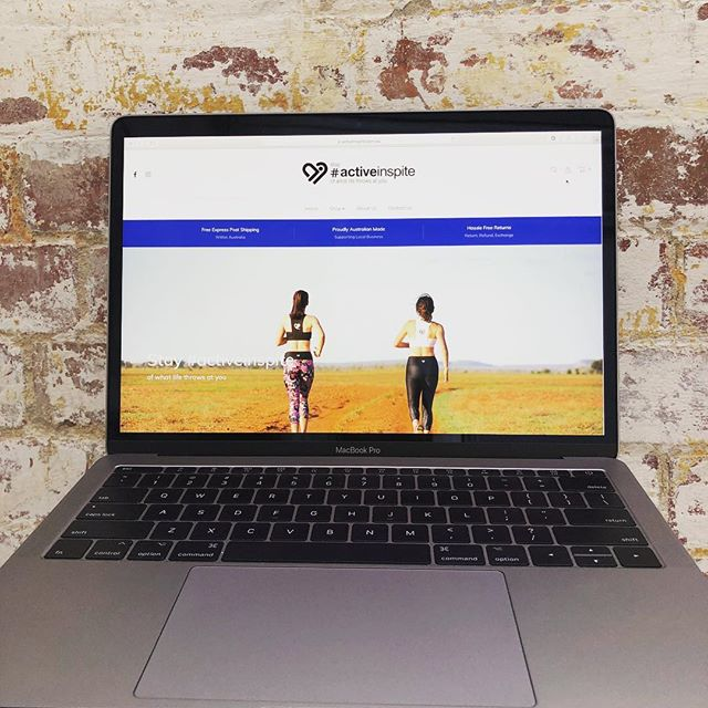 Our latest site to launch encourages rural women stay active in spite of all their current hardships with a range of activewear, in colours inspired by the land and sky of the outback. @activeinspite . . . . . . . . . #activeinspite #stayactiveinspite #activewear #exersize #outback #drought #qld #outbackaustralia #droughtappeal