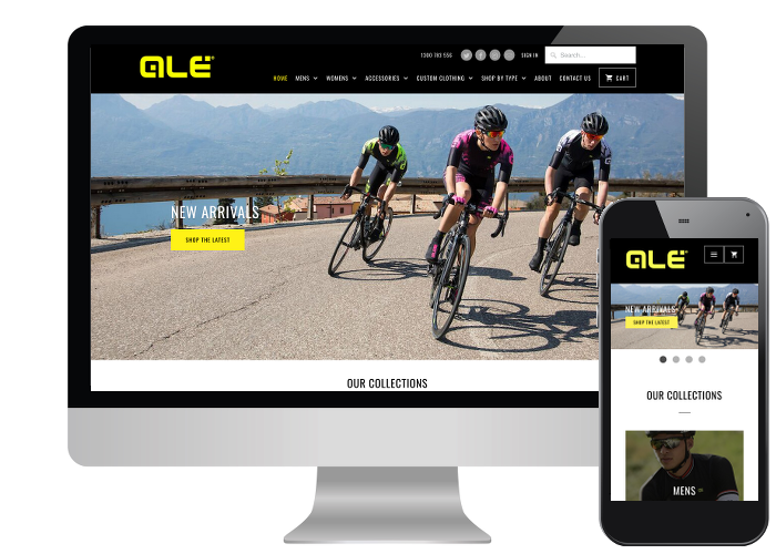Ale Cycling - As one of the top Italian cycling brands, Ale needed and Aussie presence for local customers. Beautiful Italian scenes in the images certainly made it fun to work on!Built on: Shopify