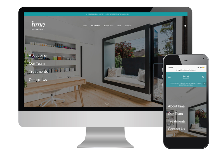 Bayside Medical - Bayside's practice has a clean, nordic design and it is shown off beautifully with their professional photography and a new modern website.Built on: Squarespace