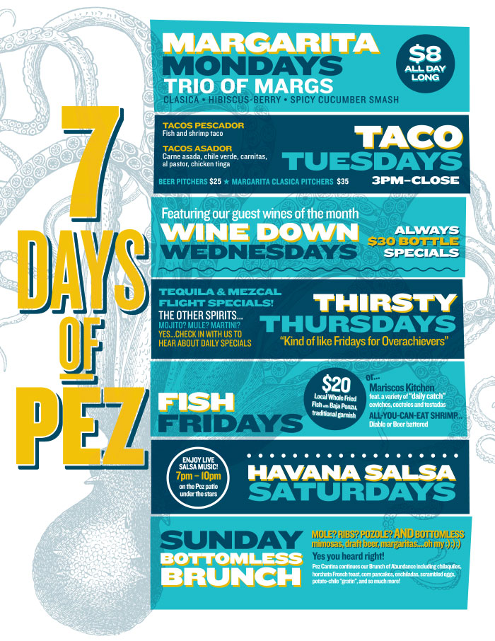 Pez Cantina 7days of PEZ