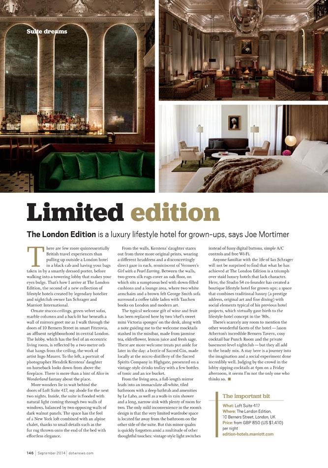The London Edition, UK
