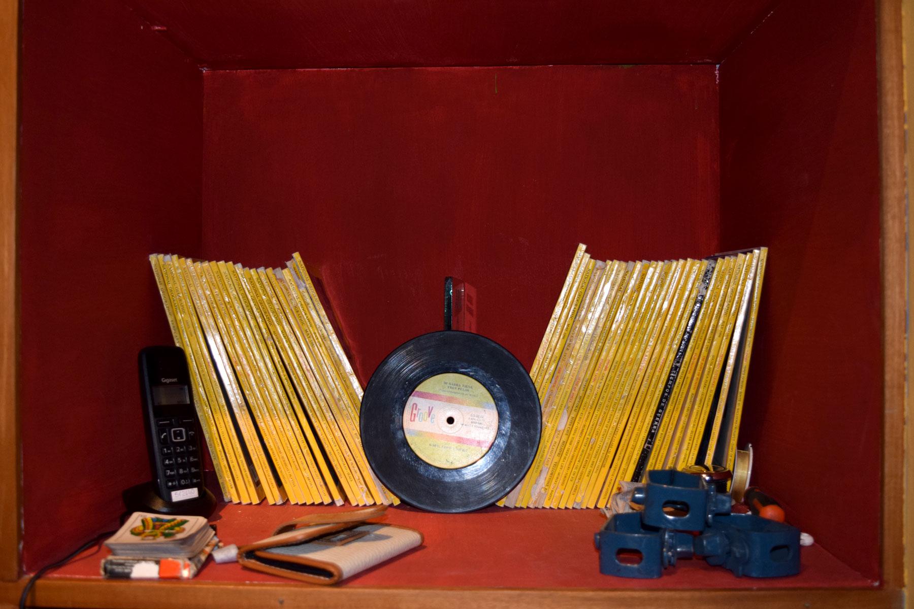 Bookshelf at Patagonia Vieja, El Calafate