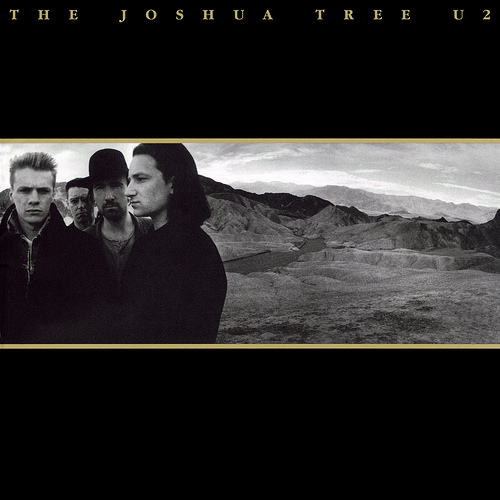 U2: The Joshua Tree  Ok, this one makes a lot of lists I'm sure, and for good reason. The sonic atmosphere they were able to capture is brilliant. The overall flow and transition of the record makes the listener stay on board the whole way through.