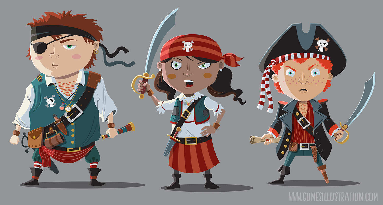 Pirate Children Characters