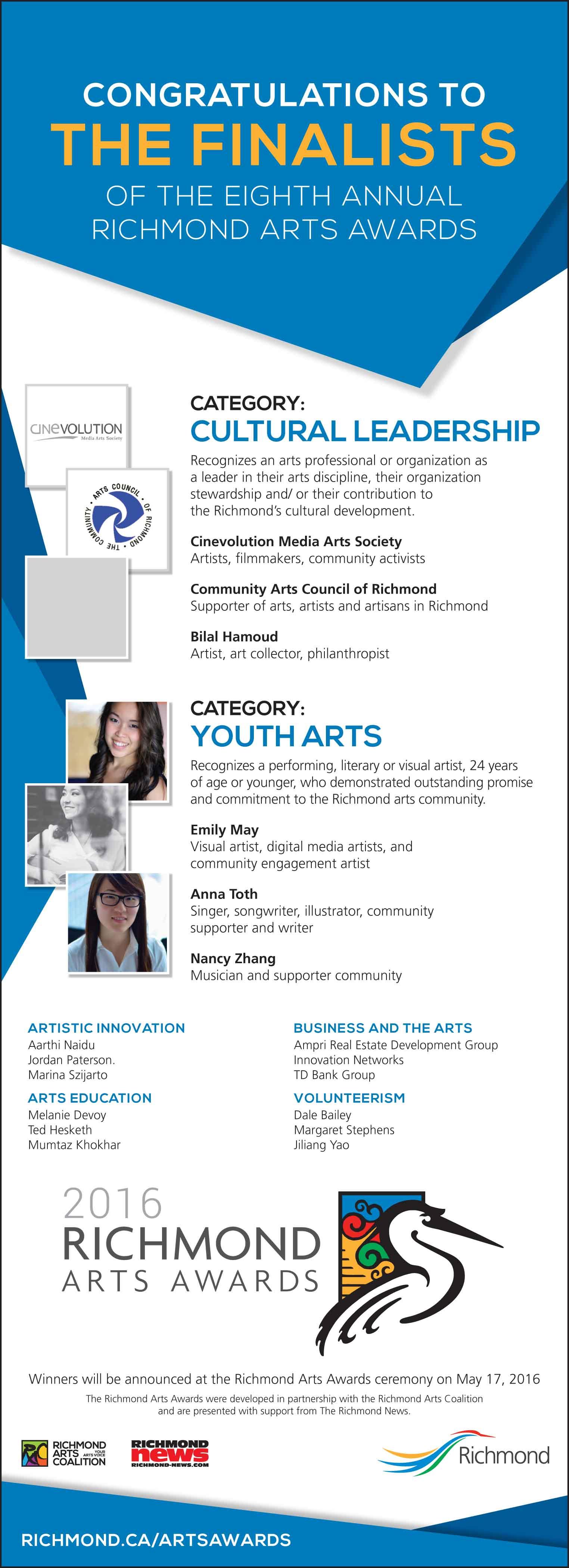 2016_Arts Awards_Finalists_Half Page Ad_3